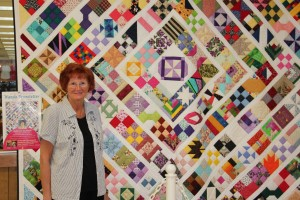 "Wanda Brunstetter's ""Quilt of a Thousand Hands"""
