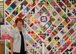 Wanda Brunstetter with The Quilt of a Thousand Hands