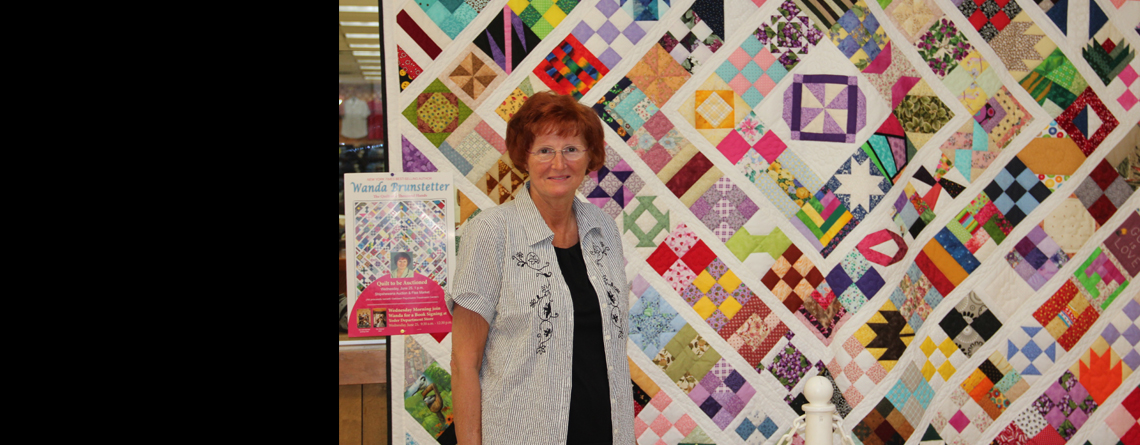 Wanda Brunstetter's Quilt of a Thousand Hands